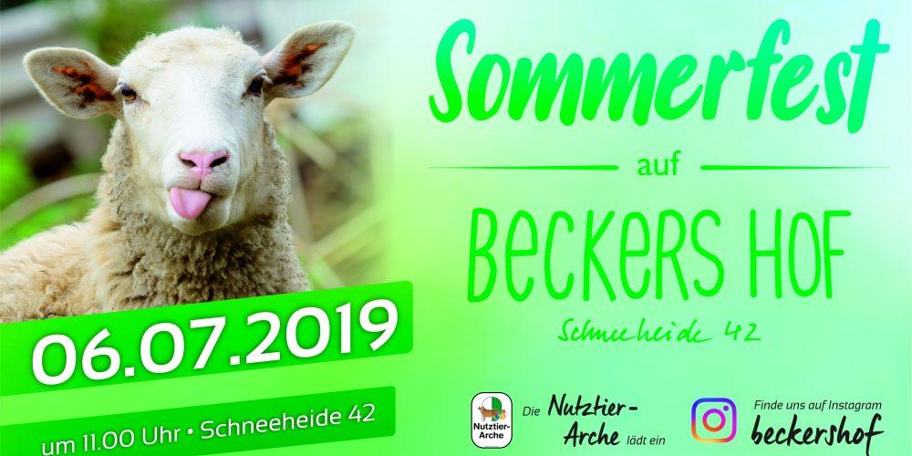 Sommerfest auf BECKERS HOF